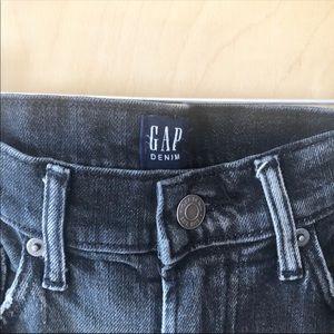 GAP Jeans - GAP   High Rise Raw Hem Girlfriend Jeans
